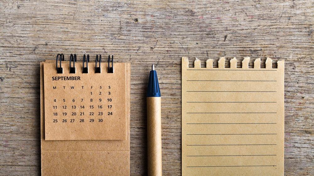 Besprekingskalender